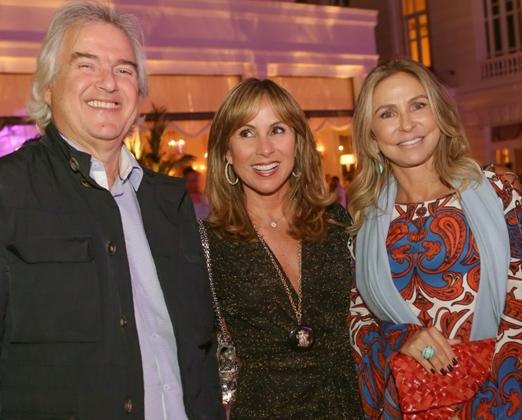 David Zilberman, Andrea Rudge e Regina Giacomelli