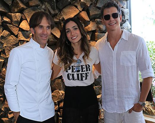 Davide Oldani, Andrea Santa Rosa e Marcio Garcia