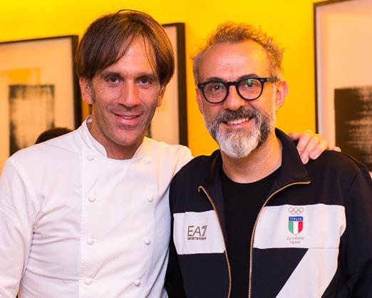 Davide Oldani e Massimo Bottura
