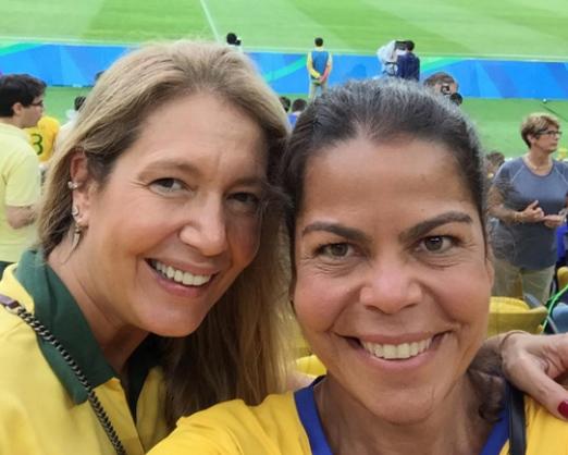 Donata Meirelles e Daniela Falcão