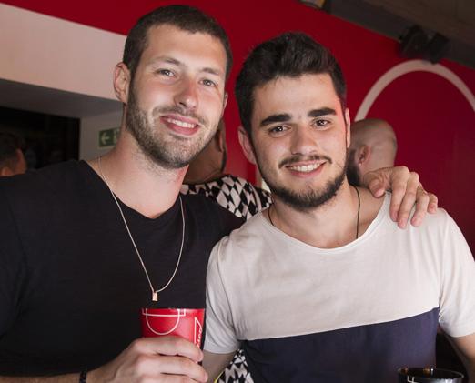 Felipe Meretti e Paulo Morales