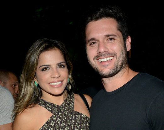Fernanda Caldas e Leo Gandara