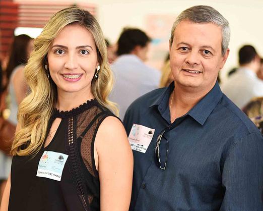 Fernanda Machado e Leandro Braz