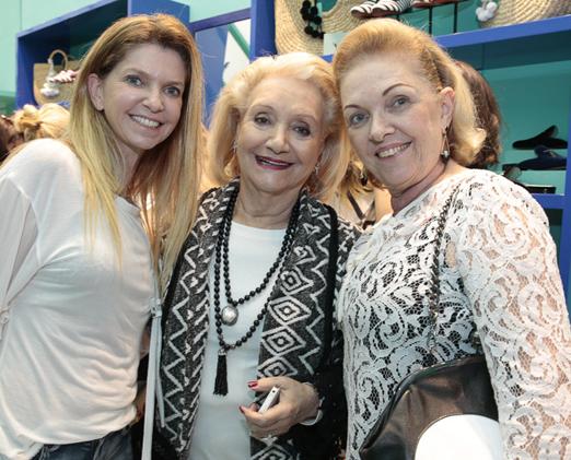 Flavia Dorf, Idalena Veloso e Cecilia Rodrigues
