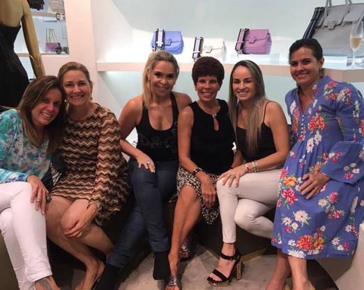 Flavia Magalhães, Arlete Alberto, Veronica Berman, Leliane Castanheira, Patrice Pessoa e Marcia Wallier