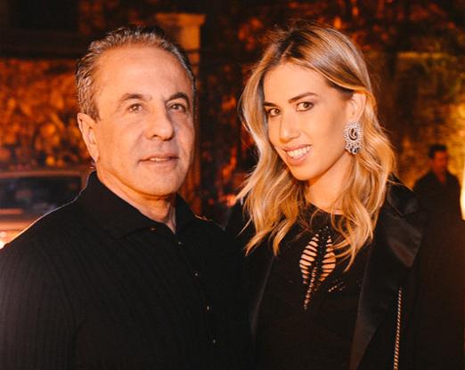 Flavio Aronis e Clarissa Wagner