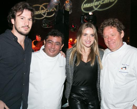 Gabriel Salla, João Batista, Monique Alfradique e Claude Troigros