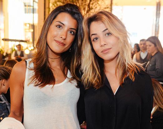 Gabriela Susanna e Rafaella Kalil