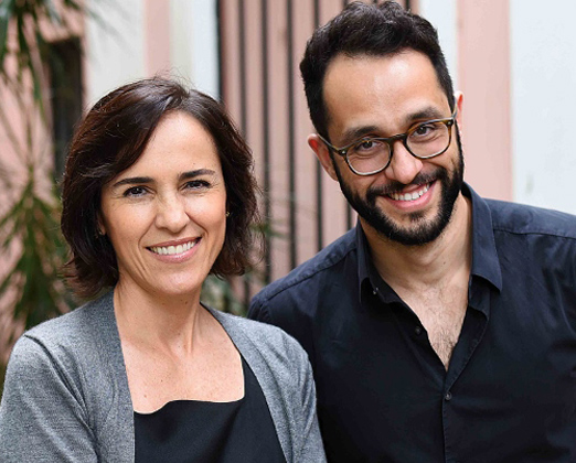 Gisele Taranto e Rafael Pessanha