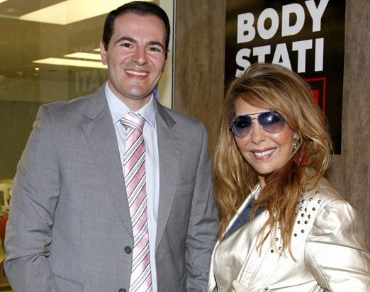 Guilherme Arbex e Terezinha Sodré