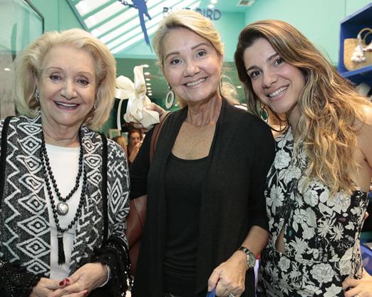 Idalena Veloso, Geisa Veloso e Tatiana Dorf