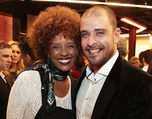 Isabel Fillardis e Diogo Nogueira