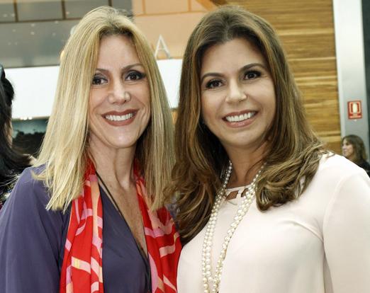 Isabela Francisco e Raquel Verri