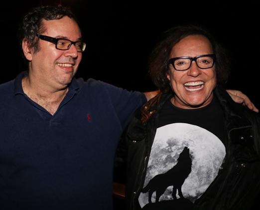 João Emanuel Carneiro e Wolf Maya