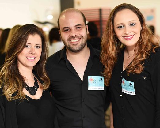 Kamila Neto, Leandro Neves e Flavih Nunes