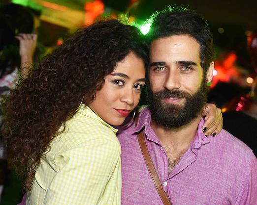 Karen Motta e Rafael Sardão