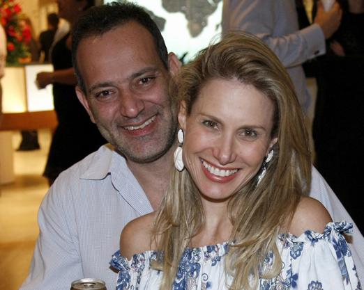Leticia Levy e Alan Gandelman