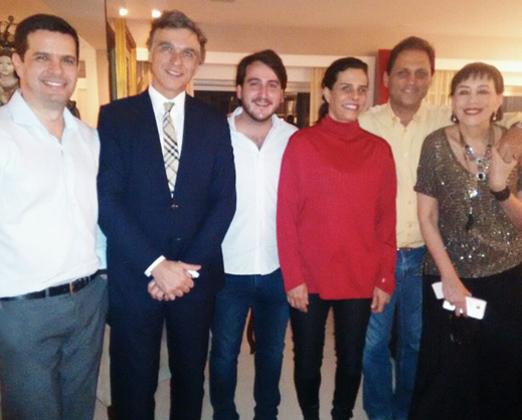Mário Filippo Junior, Felipe Conde, Nestor Rocha Filho, Narcisa Tamborindeguy, Paulo Sergio Niemeyer e Yacy Nunes