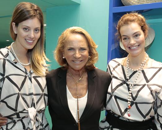 Michelle Lima, Lenny Niemeyer e Paula Proushan