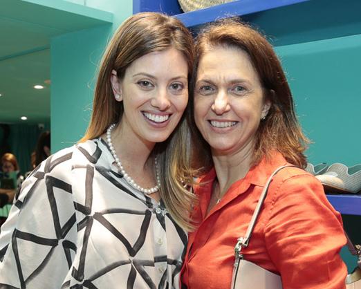 Michelle Lima e Cecilia Rodrigues