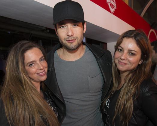 Monique Vidal, Sergio Marone e Renata Carvalho