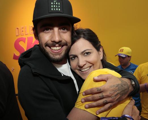 Pedro Scooby e Carol Sampaio
