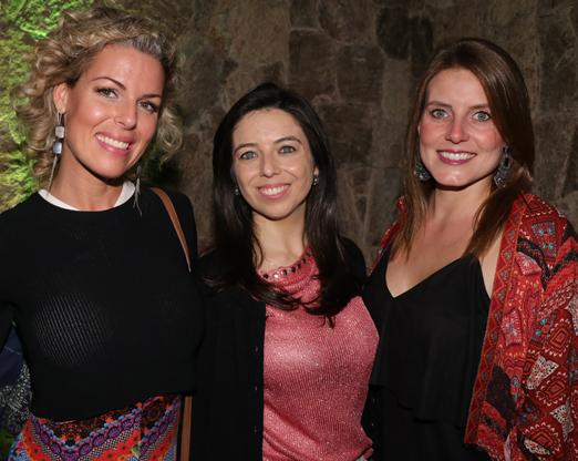 Priscila Cunha, Camila Davi e Prisicila Soares