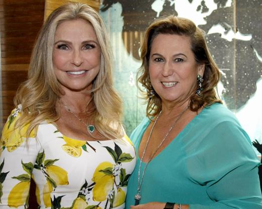 Regina Giacomelli e Theresa Macedo