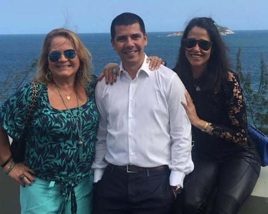 Renata Fraga, João Ricardo Coelho e Paula Severiano Ribeiro