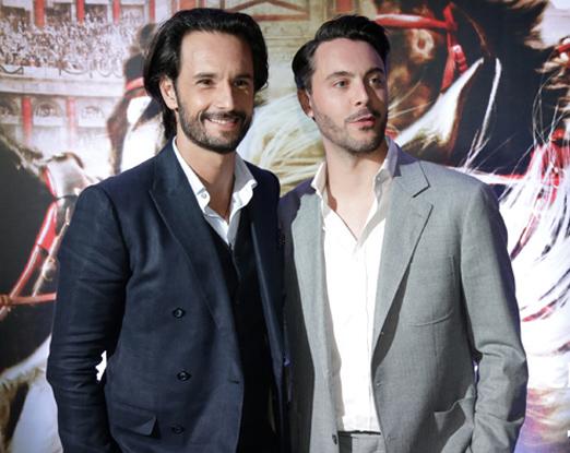 Rodrigo Santoro e Jack Huston