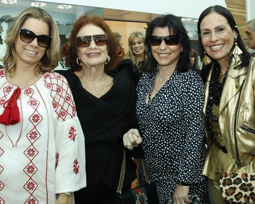 Tania Pereira, Eliana Moura, Mercia Lajes e Beth Pinto Guimarães