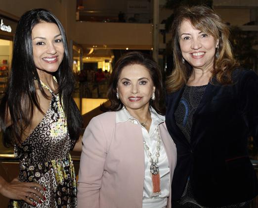 Vania Santhiago Guimarães, Cleuba Verri e Sumaya Neves