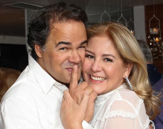 Vinicius Roseira e Denise Brenlha
