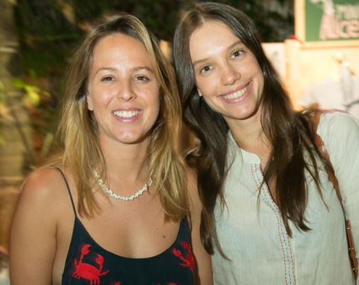 Alexia Wenk e Luiza Mussnich