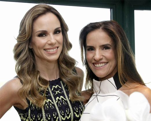Ana Furtado e Daniela Alvarenga