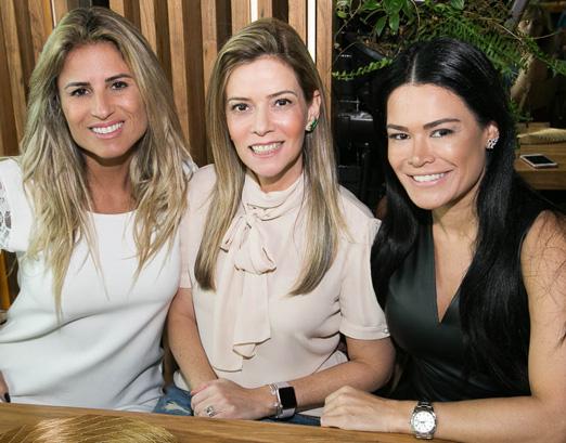Ana Paula Barbosa, Karina Nigri e Rosa Leal