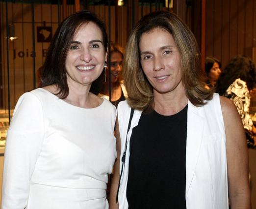 Anna Clara Tenenbaum e Nazareth Metsavaht