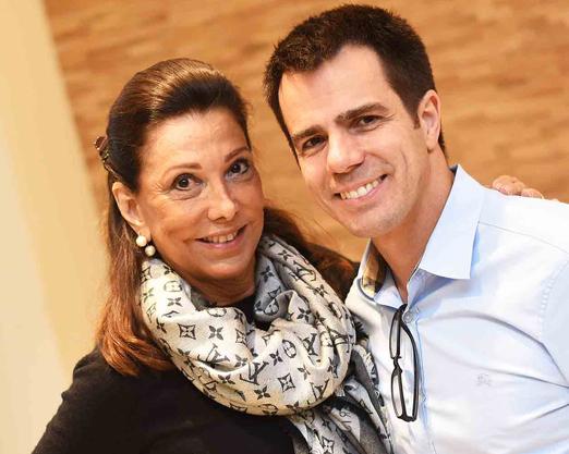 Anna Luiza Rothier e Luis Fernando Amorim