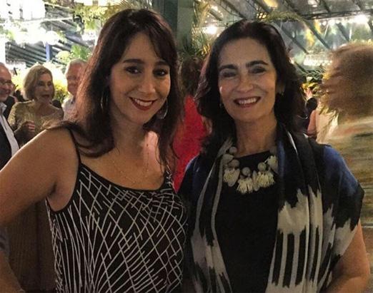 Antonia Leite Barbosa e a mãe Katia Mindlin Leite Barbosa