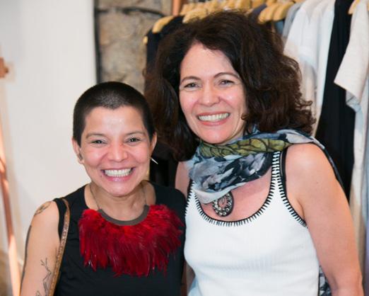 Antonia Oliveira e Roberta Damasceno