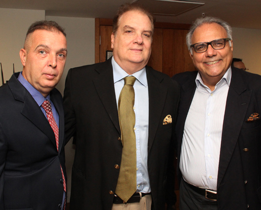 Bayard Boiteux, Rawlson de Thuin e Franklin Toscano