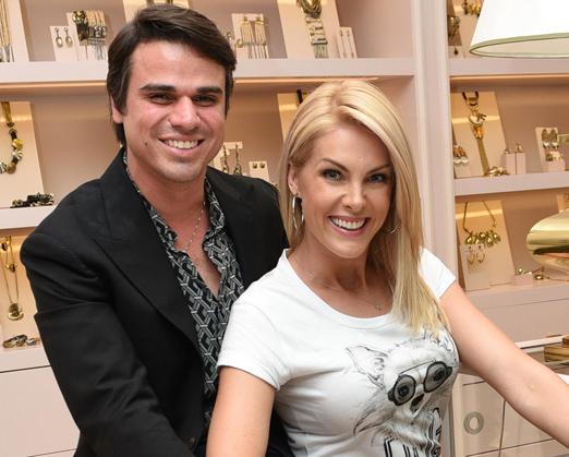 Beto Pacheco e Ana Hickmann
