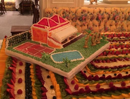 O bolo da festa