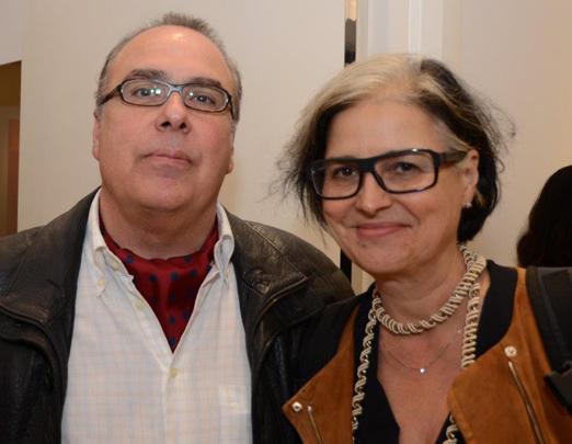 Carlos Leal e Beth Jobim