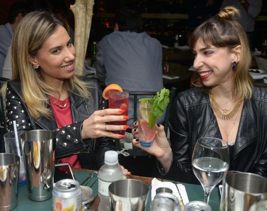 Clarissa Wagner e Luciana Levy