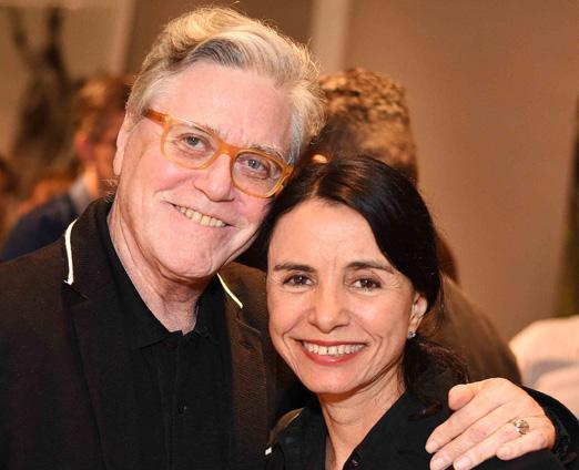 Claudio Lobato e Vera Rebello