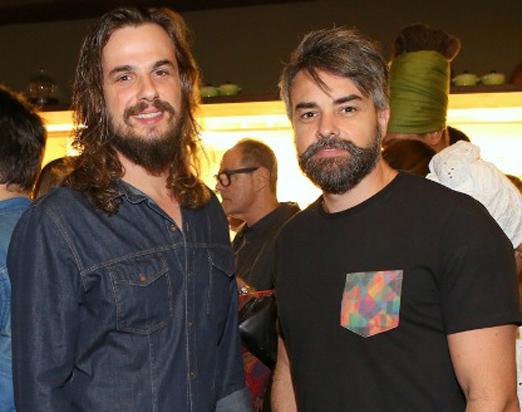 Daniel Erthal e Márcio Kieling