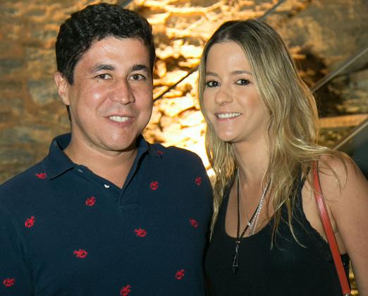 Diógenes Queiroz e Celina Palhares