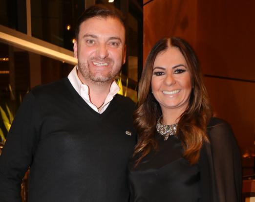 Emerson Botelho e Georgia Valerio