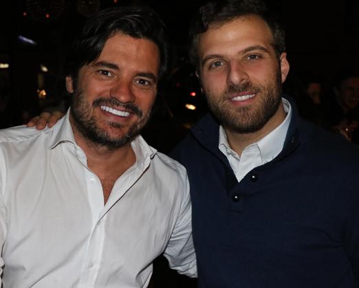 Felipe Barahona e Jean Paul Maroun